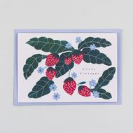 Katie Housley 'Happy Birthday' Strawberry Card